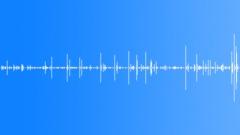Ballpoint writing - sound effect