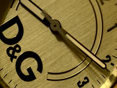 Watch face timelapse Stock Footage