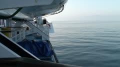Ferries in Mediterranean Sea Stock Footage