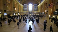 Grand Central Station, Timelapse - stock footage