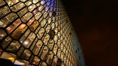 Harpa front wide Stock Footage
