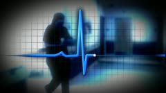 Hospital Composite 1409 Stock Footage