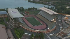 Husky Stadium Stock Footage
