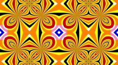 Kaleidoscope 2D HD 1080 Stock Footage