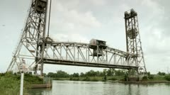 Vertical Lift Bridge, HD Stock Footage
