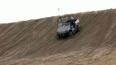 Bikes, Quads and Buggies on the Dunes 4 - stock footage