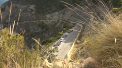 Mountain Road - stock footage