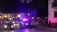 Poliisiauto partioivat Meksikossa Arkistovideo