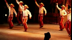 Mexico folkloric dance Stock Footage