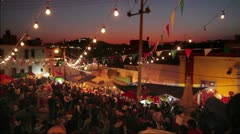 Guadalupe Celebration Stock Footage