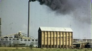 Factory Smokestack Industrial Plant Belching Pollution 1940s Vintage Film  1762 Stock Footage
