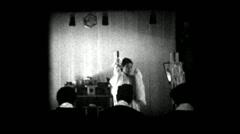 Japan Woman Shinto Priest Ritual Shrine Temple - Vintage Super8 Film Stock Footage