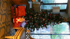 25p Christmas tree and presents 5 Stock Footage