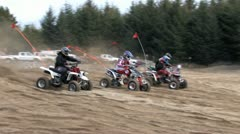 Bikes, Quads and Buggies on the Sand Dunes 25 Stock Footage