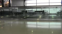 Airport Terminal - Moving Walkway2.mp4 Stock Footage