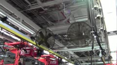 Auto Plant - Car Assembly Line 3.mp4 - stock footage