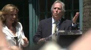 Stock Video Footage of Henry Winkler talks about Marlee Matlin