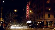 Stock Video Footage of 5th Ave Theatre, Seattle, Christmas