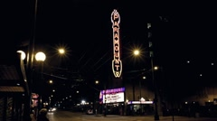 Paramount Theatre Seattle Stock Footage