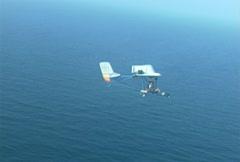 Ultralight plane Stock Footage