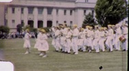 Students High School Marching Band Orchestra 1950s Vintage Film Home Movie 1805 Stock Footage