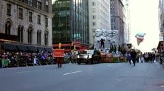 Neil Diamond in Macy's Parade Stock Footage