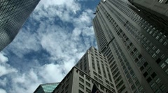 New York skyscrapers - stock footage