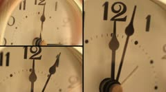 Table Clock - Timelapse - stock footage