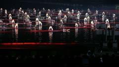 Impression Sanjie Liu - stock footage