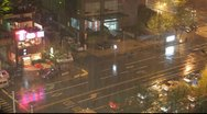Hangzhou Street Stock Footage