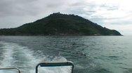 Leaving Phi Phi Islands Stock Footage