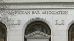 American Bar Association Stock Footage