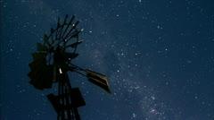 Windmill/Stars/01 - stock footage