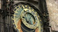 Stock Video Footage of Prague Astronomical Clock