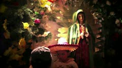 Photo of Child with Guadalupe Stock Footage