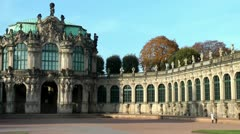 Dresden Zwinger Germany Stock Footage