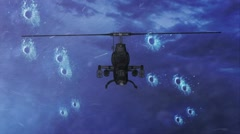 Light Combat Helicopter Stock Footage