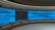 Virtual Set Animated Studio 35 A Stock Footage
