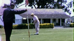 Golfin Golf Club Circa 1955 (vintage Film 8mm Home Movie) 1838 Arkistovideo