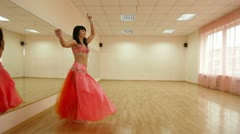 Dance Routine Stock Footage