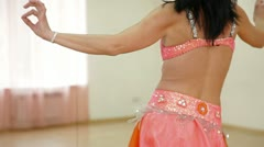 Belly Dancing Lessons Stock Footage
