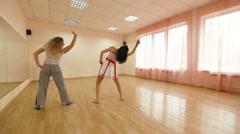 School Of Dancing Stock Footage