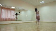 Modern Dance School Stock Footage