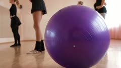 DOLLY: Dance Routine Stock Footage