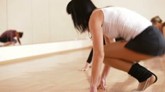 Fitness workout Stock Footage