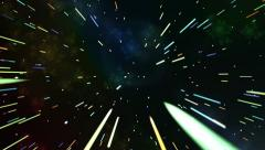 Lightspeed tunnel Stock Footage