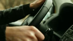 Shifting Driving - stock footage