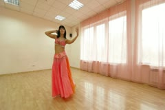 Bellydance  Classes Stock Footage