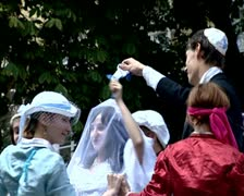 The Jewish wedding Stock Footage