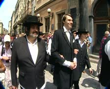 The Jewish wedding - stock footage